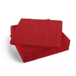 Red Napkins 40cm 2ply 2000's
