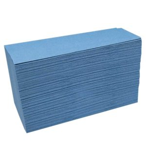 362200 katrin v fold blue hand towels