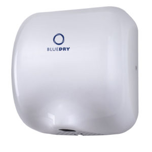 Hand Dryer Blue Dry Eco Dry White