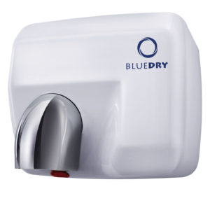 Hand Dryer Blue Dry Blue Storm White
