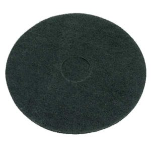 Black Floor Pads 17""