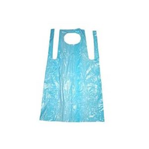 Disposable Aprons Blue Flat Pack 1000's