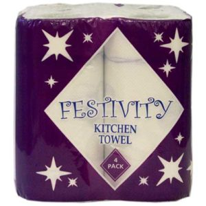 Festivity 2ply Kitchen Rolls 24pk
