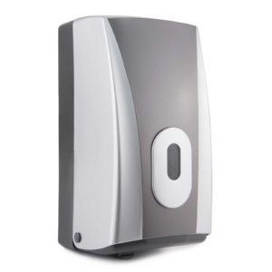 Toilet Tissue Dispenser Bulk Pack Silver Graphite