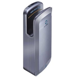 Jet Blade Hand Dryer, ABS Silver