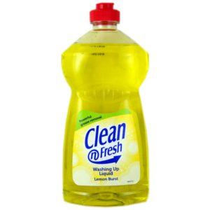Clean & Fresh Washing Up Liquid 500ml Lemon 12's