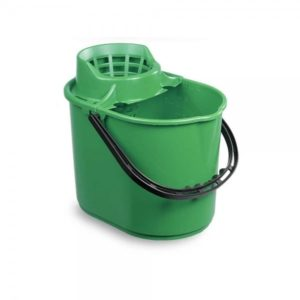 Green Mop Bucket 12ltr