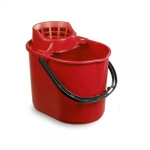Red Mop Bucket 12ltr