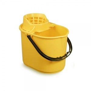 Yellow Mop Bucket 12ltr