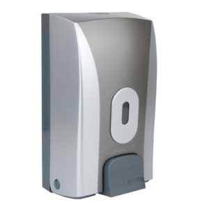Soap Dispenser Bulk Fill Silver Graphite WR-CD-1188B