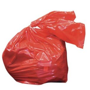 Soluble strip Laundry Bags 200's