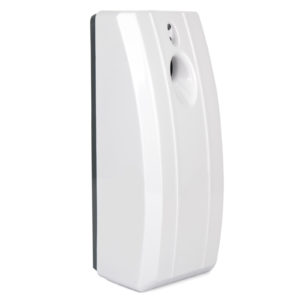Airsenz Stripy Automatic Air Freshener Dispenser White. Stripy Automatic Air freshener, WR-CD-6100A. ABS Plastic
