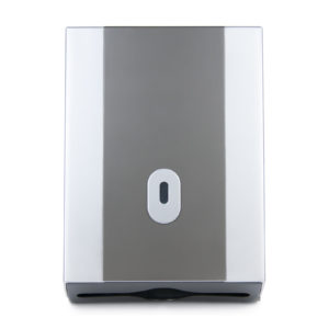 Hand Towel Dispenser Silver Graphite WR-CD-8035E