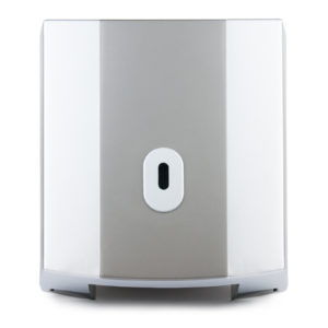 Toilet Roll Dispenser Mini Jumbo Square Graphite Silver WR-CD-8045C