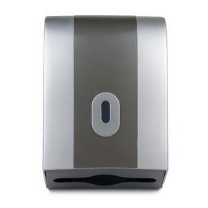 Hand Towel Dispenser Wave Silver Graphite, WR-CD-8128C