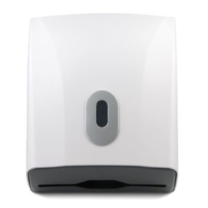 Hand Towel Dispenser Compact White, ABS Plastic. WR-CD-8228A
