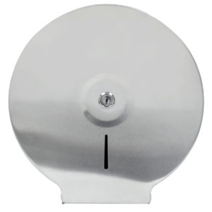 Toilet Roll Dispenser Jumbo Brushed Stainless Steel