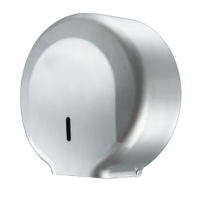 Toilet Roll Dispenser Mini Jumbo Silver Stainless Steel Brushed WR-JZH25KS