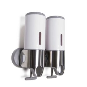 WR-102A, Shower Gel Soap Dispenser Double White