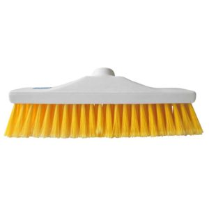 Yellow Stiff Brush Head 12""