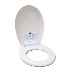 White Automatic Toilet Seat WR-ZYT-01A