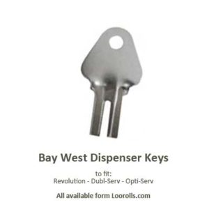 North Shore Bay West Dispenser Key