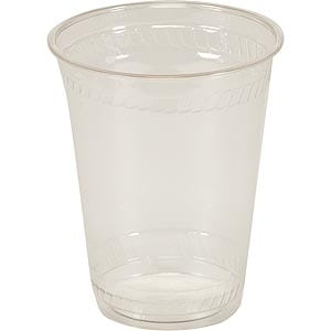 Disposable Cups Clear 7oz 2000's
