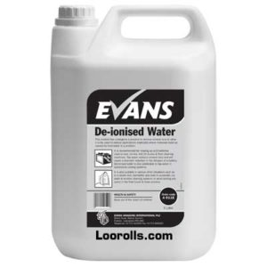 Evans Deionised Water 5ltr