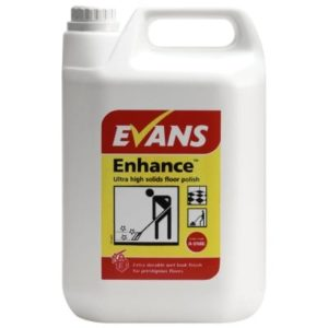 Evans Enhance Ultra Solids Floor Polish 5ltr