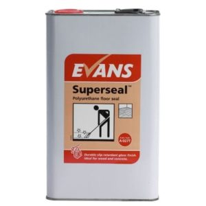 Evans Superseal Polyurethane Floor Sealer 5ltr