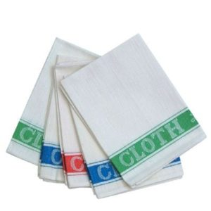 Cotton Glass Cloth 5pk, 100% Cotton, 5pk, 50x76cm