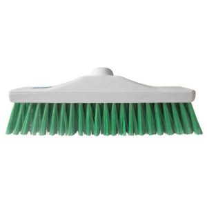 Green Stiff Brush Head 12""