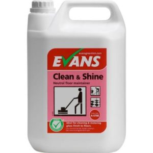 Evans Clean & Shine Floor Maintainer 5ltr