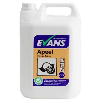 Evans Apeel Multi Purpose Cleaner 5ltr, A157EEV2