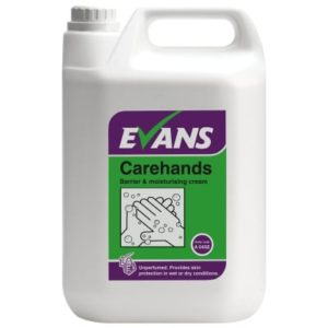Evans Carehands Barrier & Moisturising Cream 5ltr