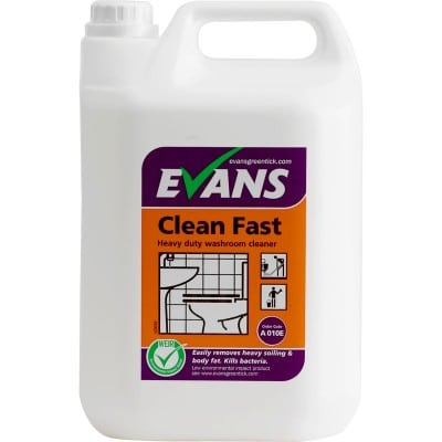 Evans Clean Fast Washroom Cleaner 5ltr