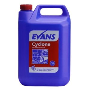 Evans Cyclone Thick Bleach 5ltr, A154EEV2