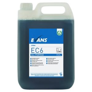 Evans EC6 All Purpose Hard Surface Cleaner 5ltr