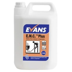 Evans E.M.C. Plus Floor Cleaner & Degreaser 5ltr, A080EEV2