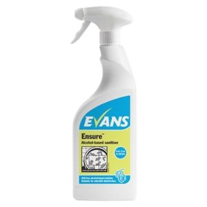 Evans Ensure Alcohol Sanitiser 6 x 750ml