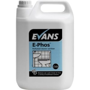 Evans E-Phos Multi Surface Acid Toilet Cleaner 5ltr, A088EEV2
