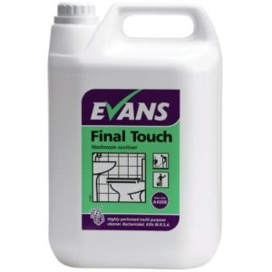 Evans Final Touch Washroom Cleaner 5ltr
