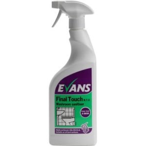 Evans Final Touch 750ml Washroom Sanitiser A060AEV