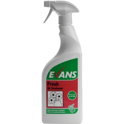 Evans Fresh Air Freshener 750ml 6pk, A075AEV