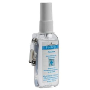 Evans Handsan Alcohol Sanitiser Clip Spray 75ml 12pk