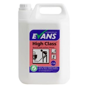 Evans High Class Floor Cleaner 5ltr