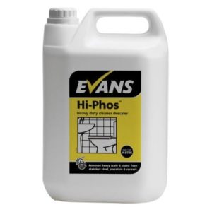 Evans Hi-Phos Heavy Duty Toilet Cleaner & Descaler 5ltr, A072EEV2