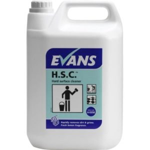 Evans H.S.C Hard Surface Cleaner 5ltr, A035EEV2