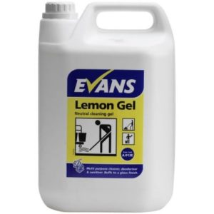 Evans Lemon Floor Gel 5ltr