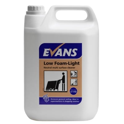 Evans Low Foam Light 5ltr